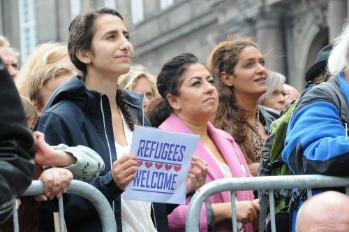 refugees welcome demonstration copenhagen