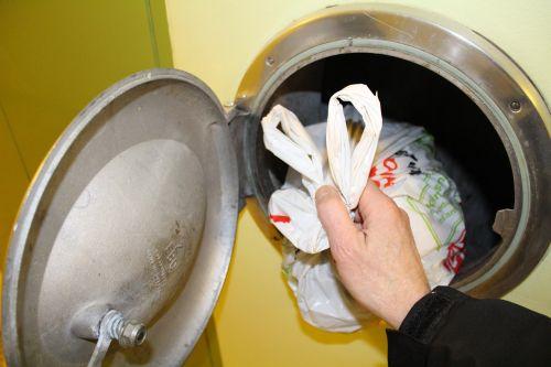 refuse disposal chutes garbage waste