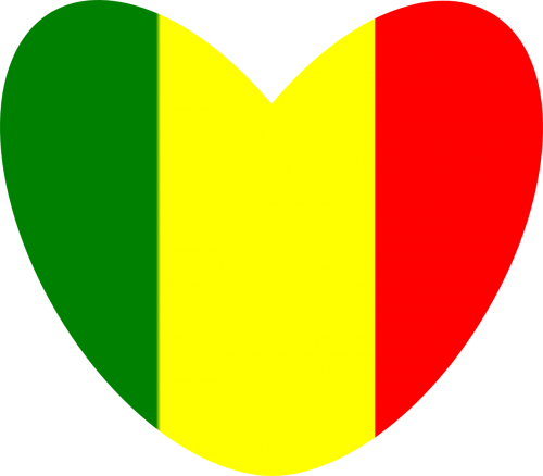 reggae rasta heart