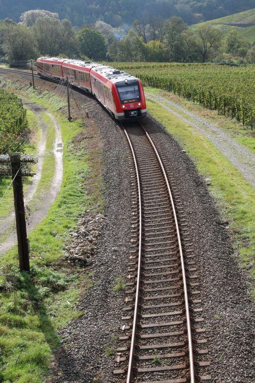 regional-express train track