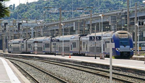 regional train platform railway station