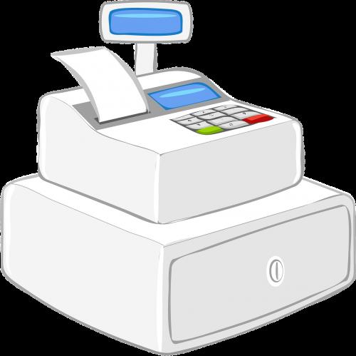 register cash register modern