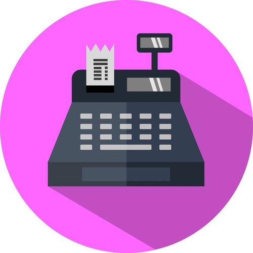 register  cashier  icon