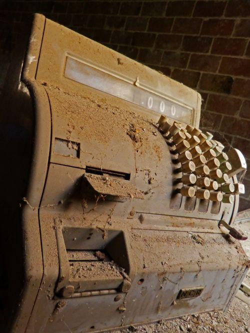 register machine old vintage