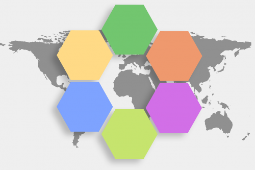 regulation hexagon diamond
