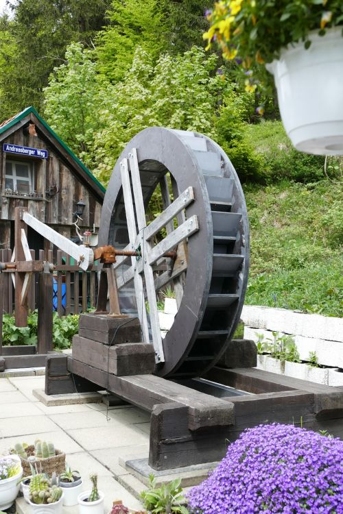 rehberger grave house waterwheel old