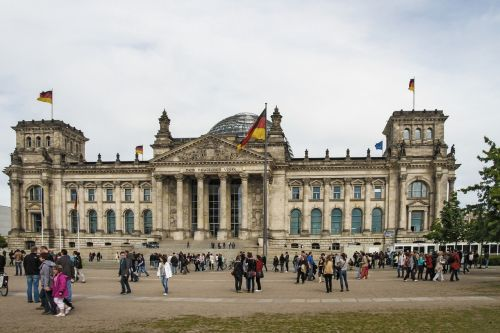 reichstag berlin federal government