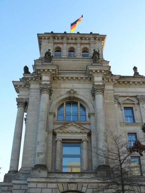 reichstag government flag