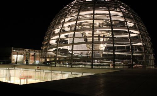 reichstag glass dome government