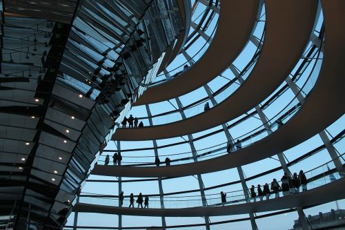 reichstag glass dome bundestag