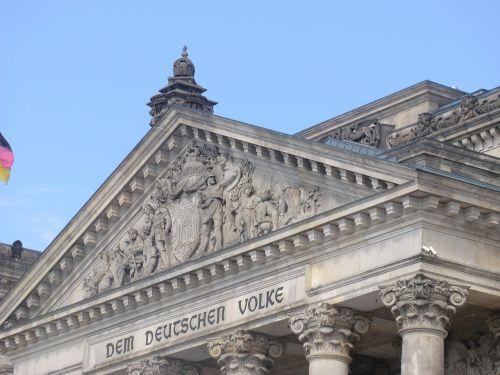 reichstag berlin inscription