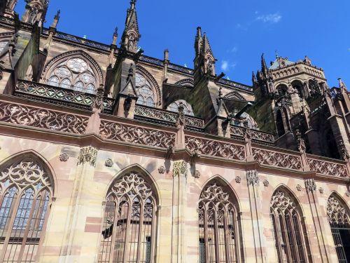 strasbourg alsace cathedral