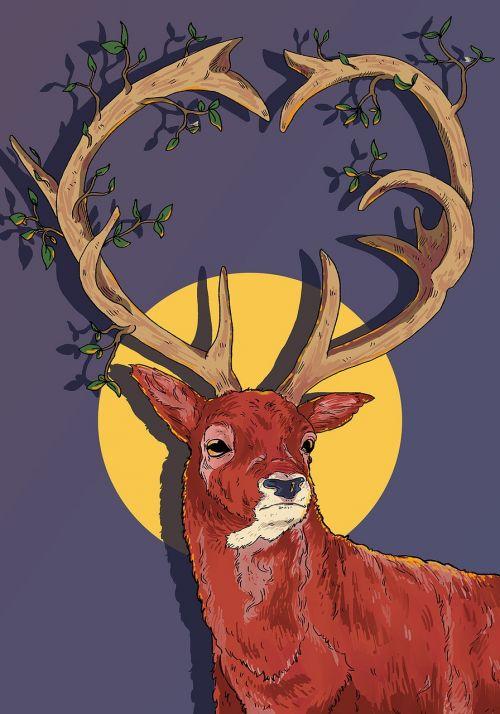 reindeer antlers christmas