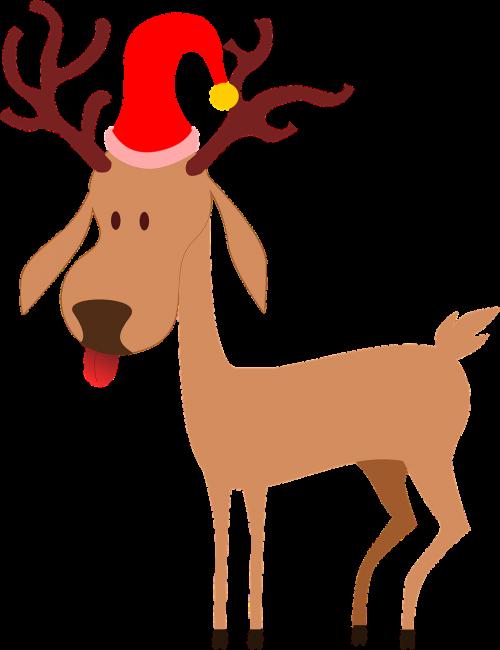 reindeer santa clause christmas