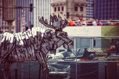 reindeer arts metal