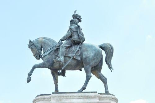 reiter stature bronze