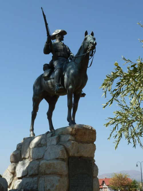 reiter monument namibia
