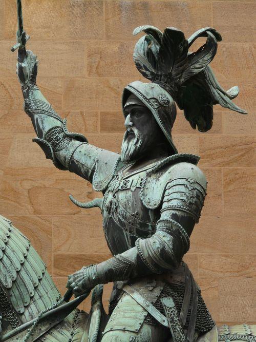 reiter equestrian statue monument