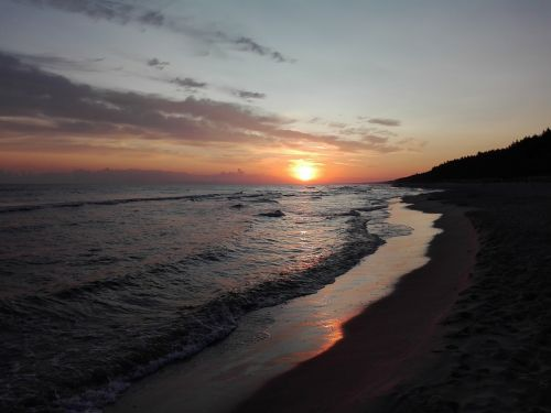 relax sea sunrise