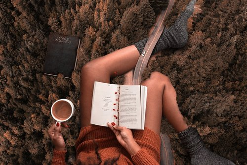 relax  read  book