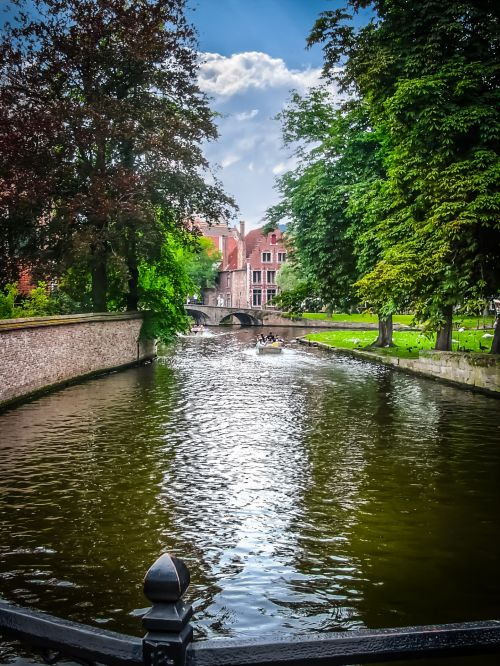 Relaxing Day In Bruges