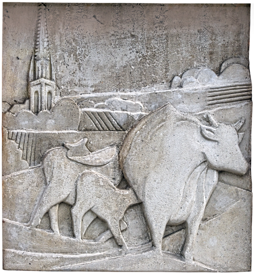 relief mural artwork