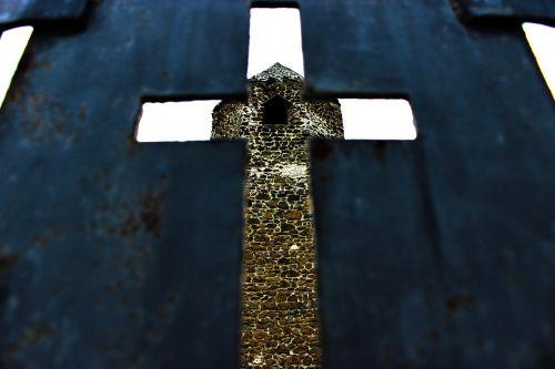 religion cross towers