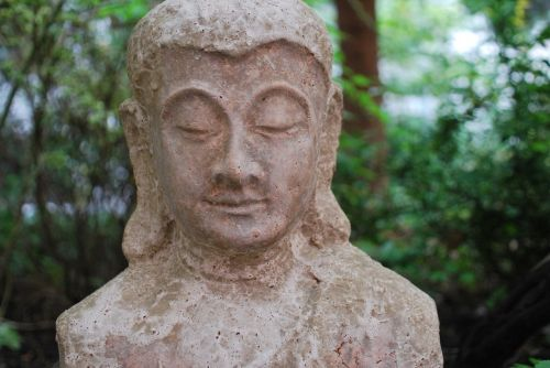 religion buddha figure garden