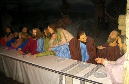 religion wax statues figure