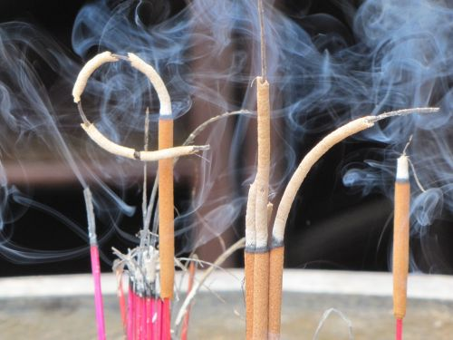 religion smoke incense