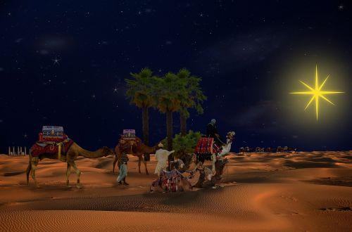 religion holy three kings caravan