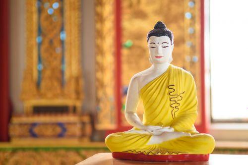 religion buddha statue seat