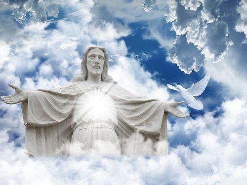 religion  christ  statue