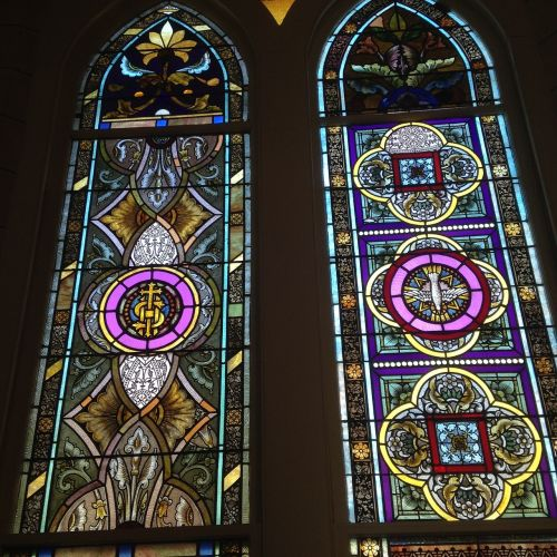 religion stained glass window beliefs