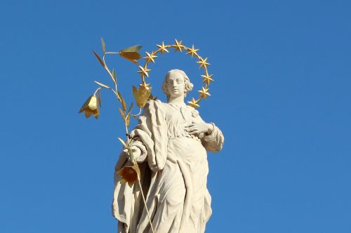 religious statue saint john of nepomuk