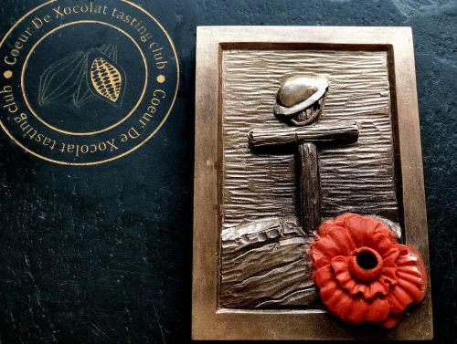 remembrance poppy chocolates