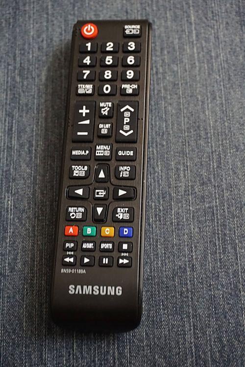 remote control zapounette television