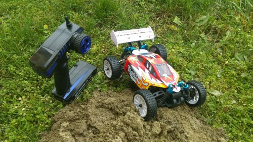 remote controlled game model
