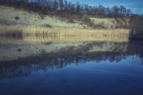 renaturation lake pit