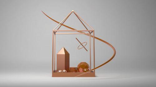 rendering metal suspension