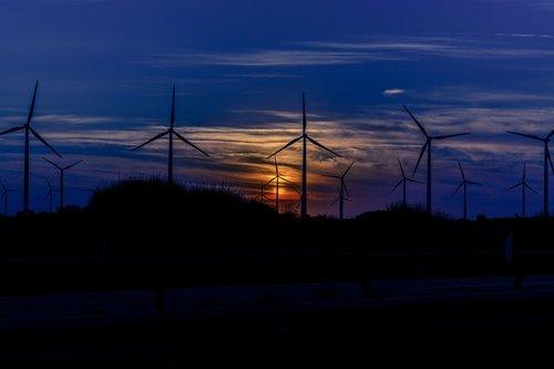 renewable energy  wind energy  sky