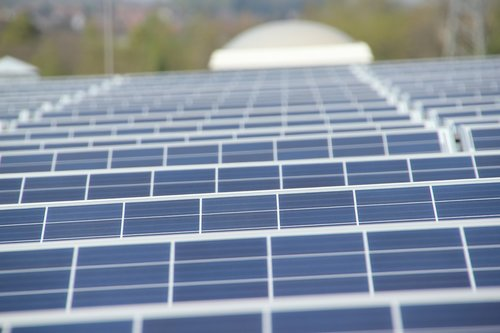 renewable energy  photovoltaic modules  solar cells