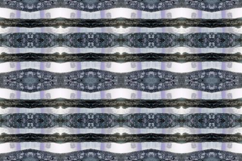 Repeat Pattern With Tree Trunks