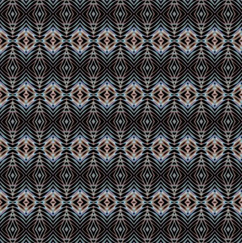 Repeated Tapestry Pattern