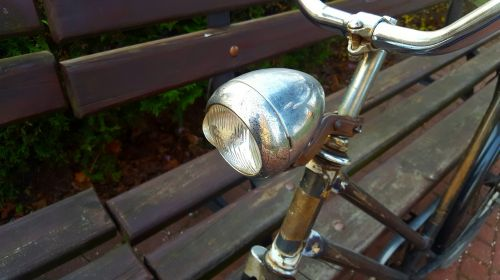 replacement lamp bike metal
