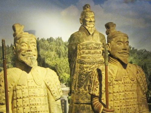 Replica Of Chinese Clay Warriors