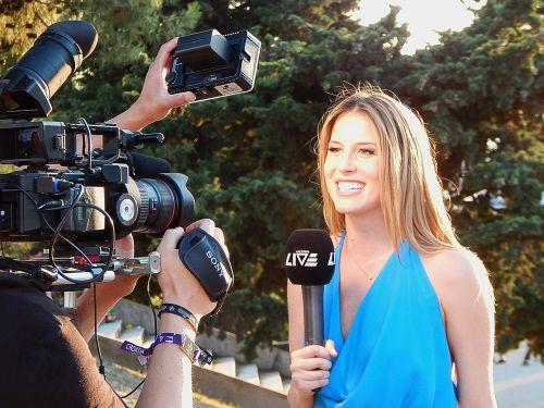 reporter camera journalist