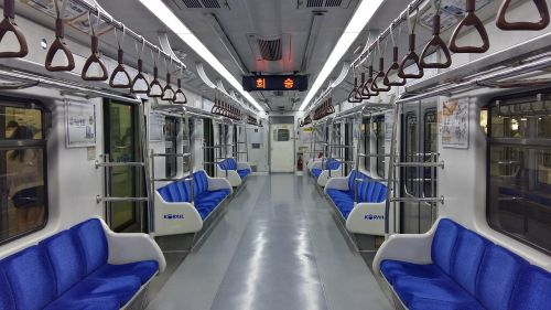 republic of korea subway train