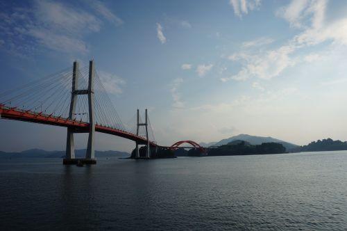 republic of korea sacheon samcheonpo bridge