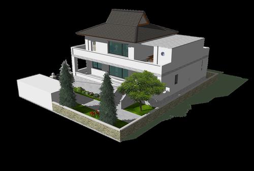 republic of korea  hanok  traditional building